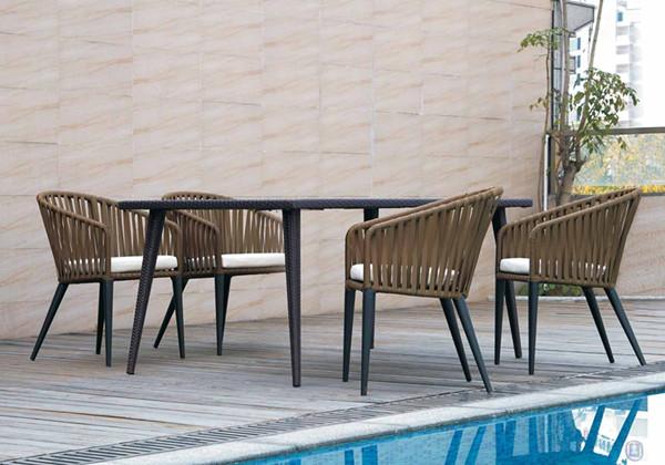 深圳城市建筑装饰公司点名采购康福特KETTAL户外桌椅