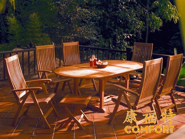 来自木材专家对于康福特柚木桌椅的高度赞美