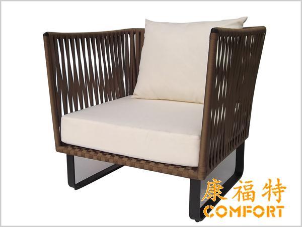 户外织带沙发,织带工艺织就不一样的体验