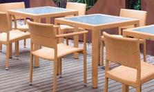 贝尔医疗项目舒适的户外休闲家具