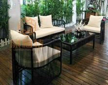 深圳康福特户外家具是园林景观中的艺术