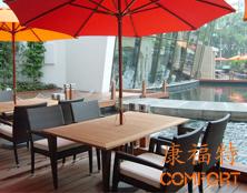 深圳华侨城洲际大酒店户外家具项目