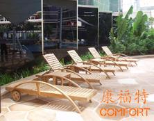 深圳大中华喜来登酒店户外桌椅项目