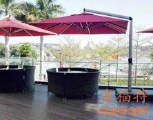 春满园餐饮集团方圆一品饭店户外桌椅