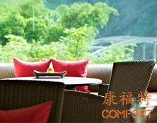 屋顶餐厅康福特户外桌椅厂家定制