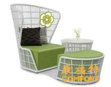 上海世正医疗科技选用康福特户外休闲家具