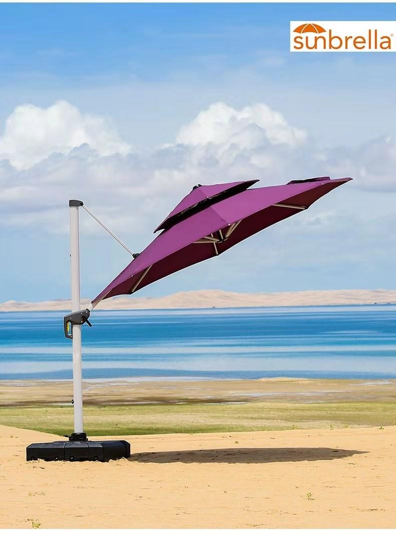 康福特欧风伞 美国Sunbrella太阳伞 豪华太阳伞
