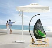 沙滩藤艺吊篮/鸟巢吊篮
