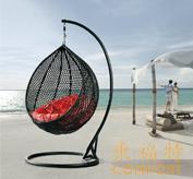 户外沙滩休闲摇藤椅/吊篮