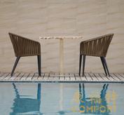 织带椅,户外餐椅 859