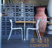 咖啡厅桌椅,户外藤编家具