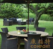 柚木户外家具,柚木桌椅,20047