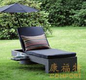 户外休闲躺椅,泳池躺椅,花园家具
