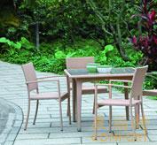 藤编家具,藤制桌椅,咖啡厅家具,32059