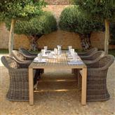 藤编家具,柚木桌椅,32050