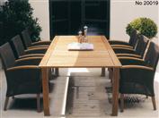 柚木户外桌椅