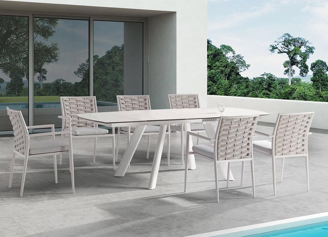 康福特新品酷设Loop芦蒲餐桌椅套装