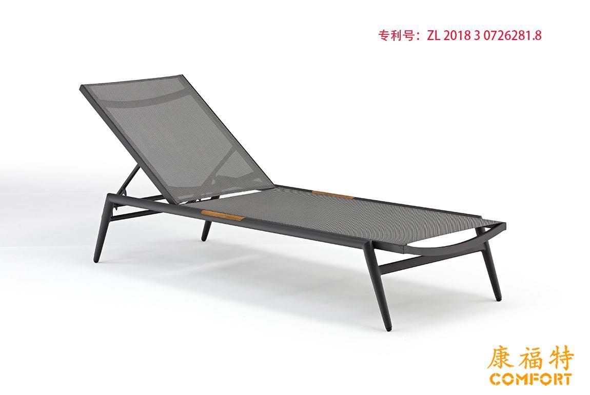 新款热销户外休闲椅沙滩椅泳池躺椅