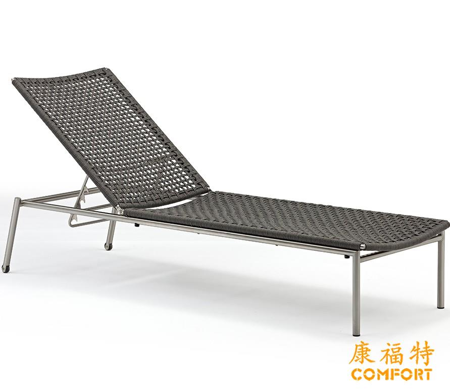 康福特新款户外泳池躺椅沙滩椅定制Zoom魅影躺床