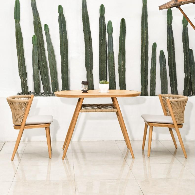 仲夏阳台桌椅组合户外花园藤椅套装