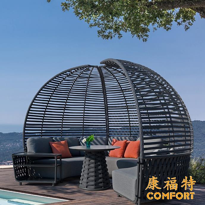 hug创意户外沙发户外家具2021户外家具推荐空中城堡